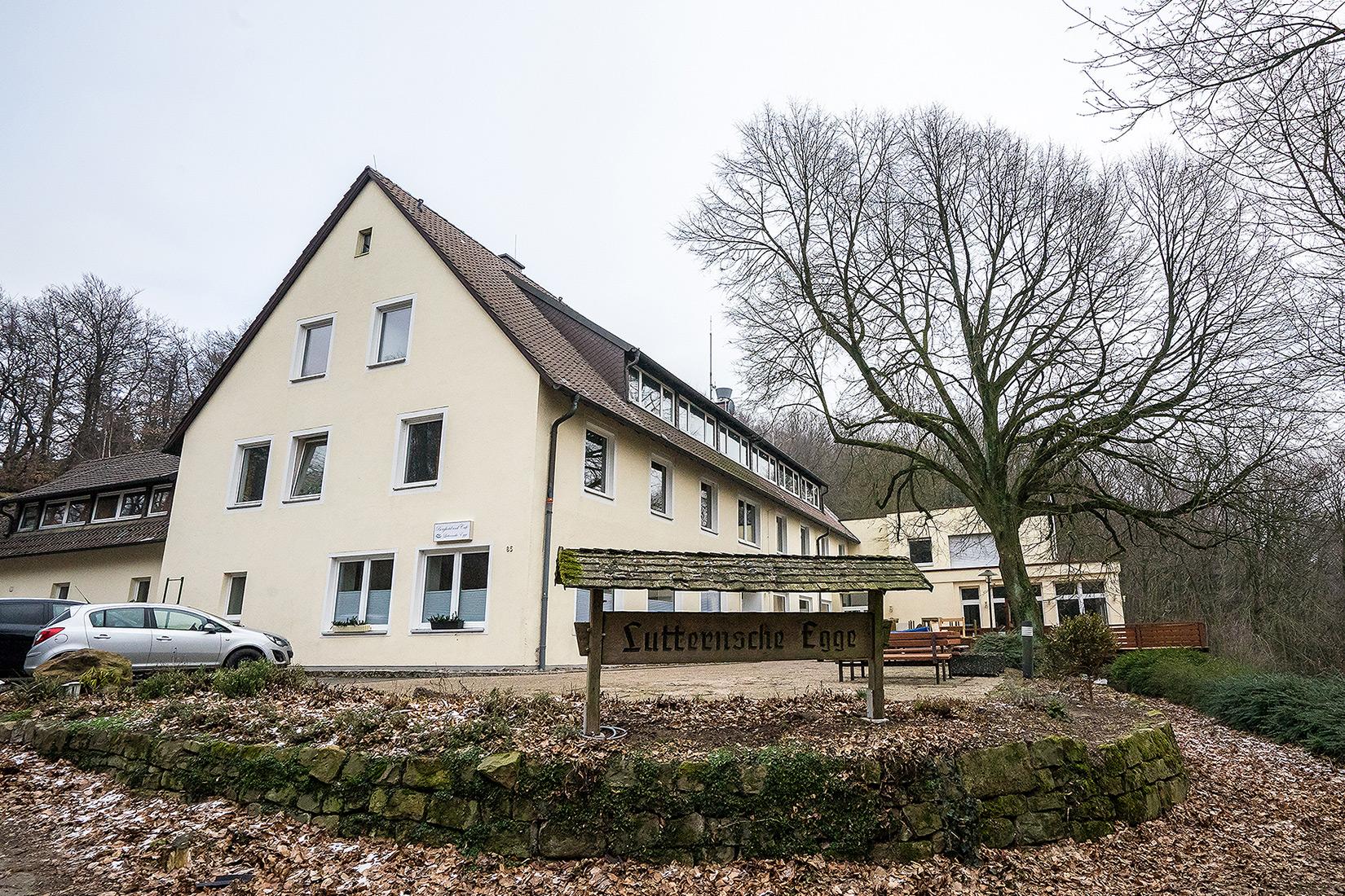 Hotel «Lutternsche Egge» in Bad Oeynhausen — ein Geheimtip im Wiehengebirge